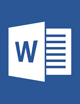 Microsoft Word 2016 Projects and Activities